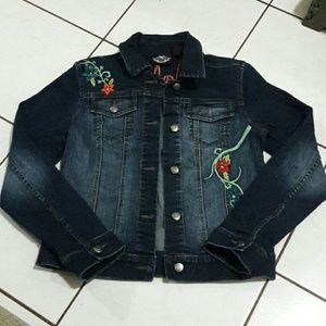 PRICE DROP!!! Harley Davidson Denim Jacket